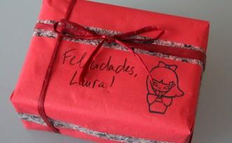 Una caja de madera para Laura