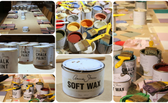 Collage taller Chalk Paint