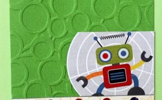 Postal de un robot
