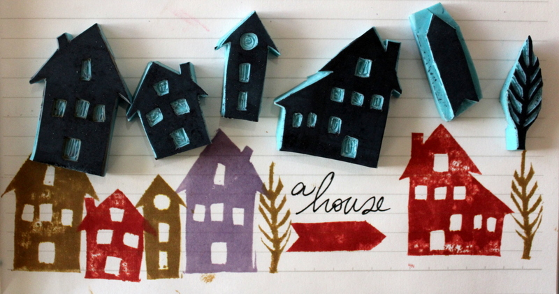 sellos carvados de casas