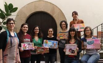 Foto de grupo taller pinta y colorea