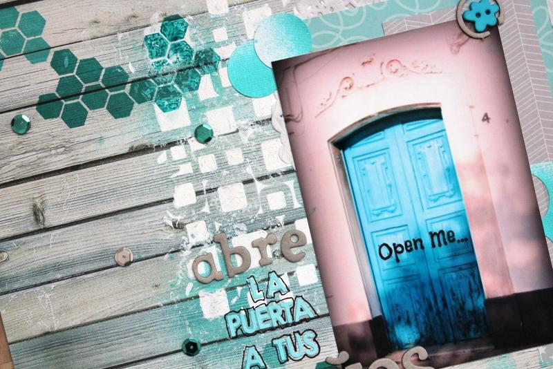 detalle del layout abre la puerta a tus sueños