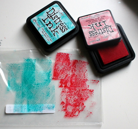 tutorial tintas distress