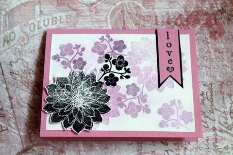 Tarjeta de flores 03