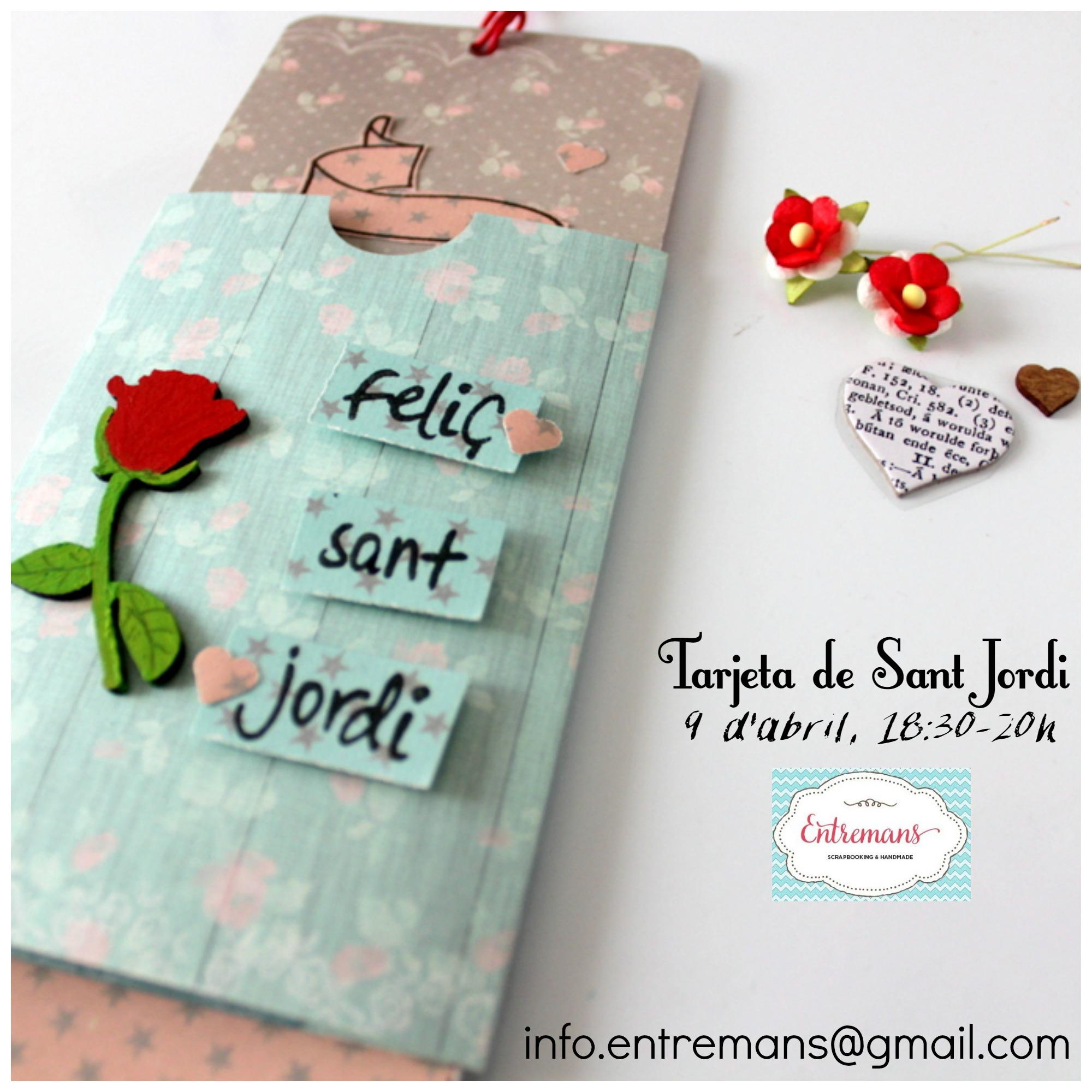 Cartell Taller Sant Jordi Entremans
