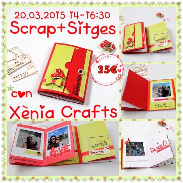 Taller 100x100 Manualidades Scrap+ Sitges