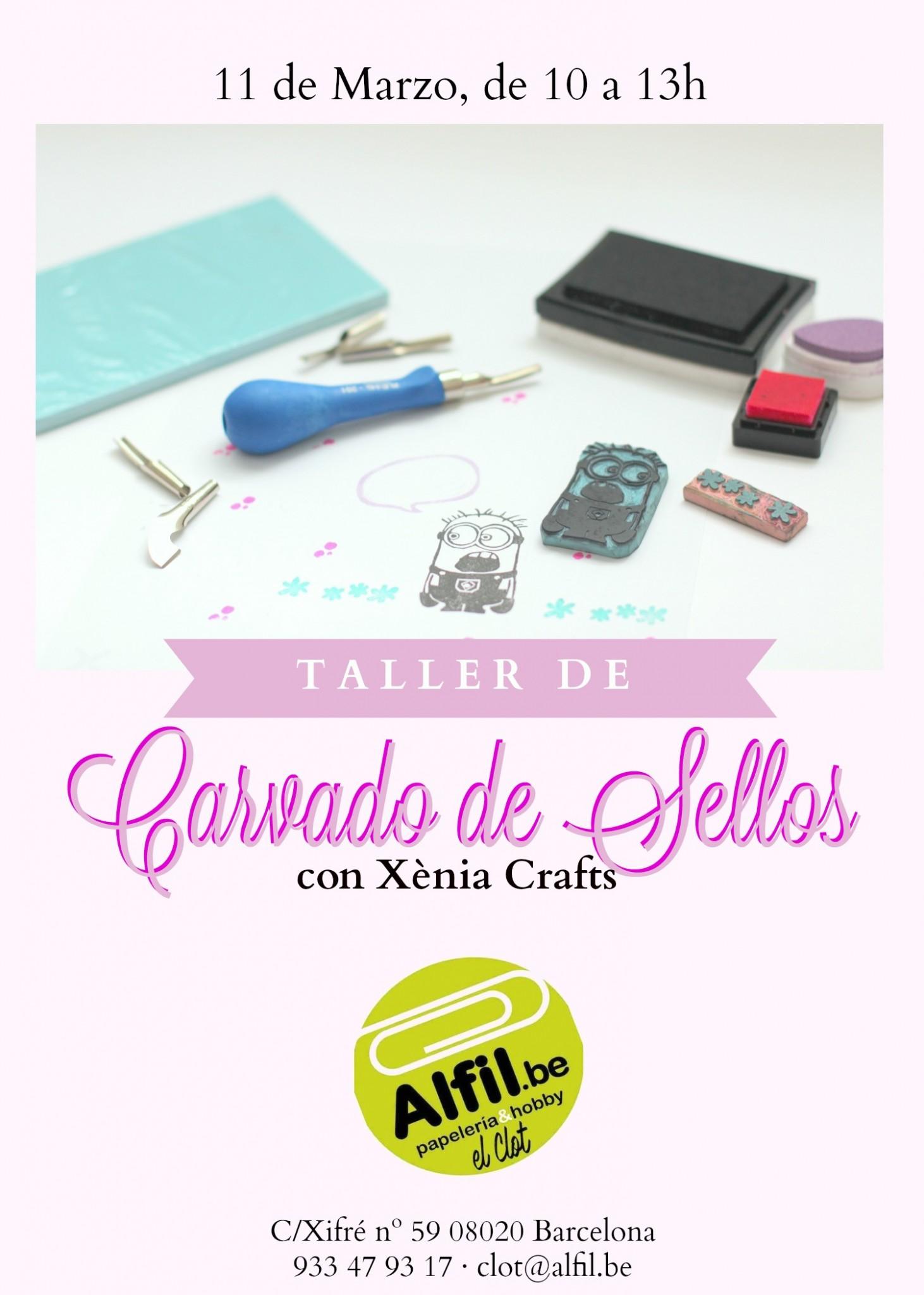 Taller Carvat de Segells Alfil Be El Clot_castellà