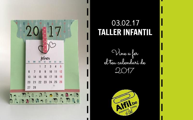 Taller adults gener - calendari 2