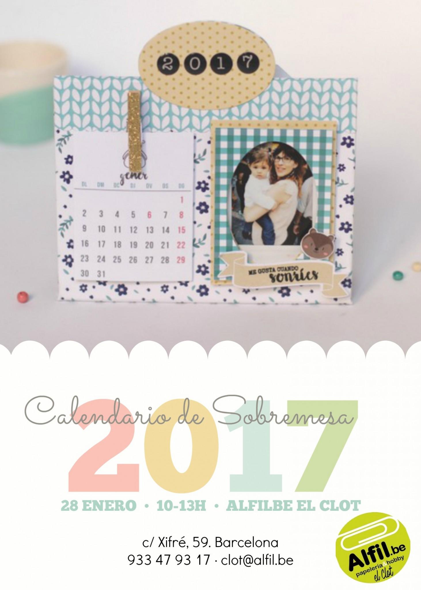 Taller adults gener - calendari