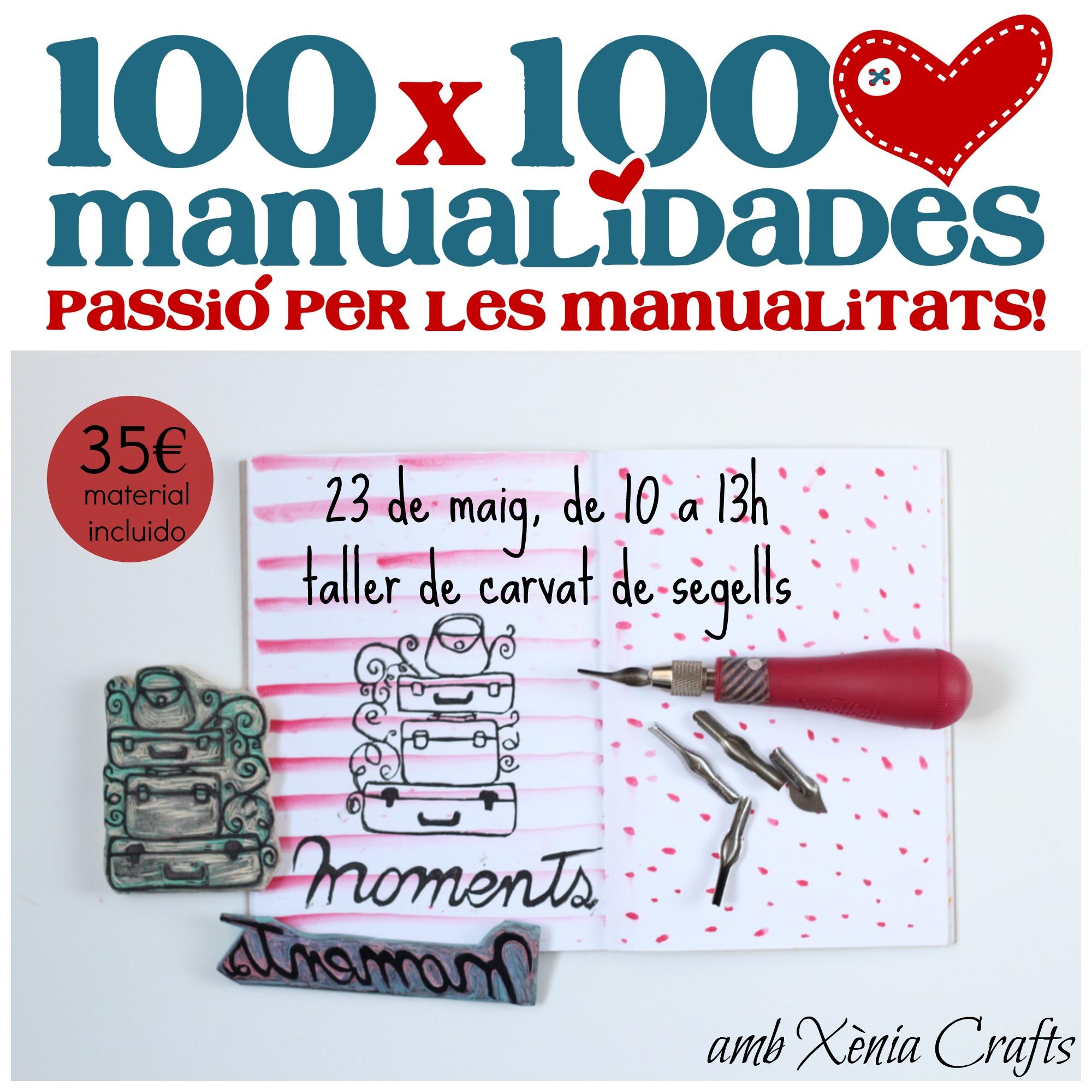 Taller carvado de sellos 100x100Manualidades