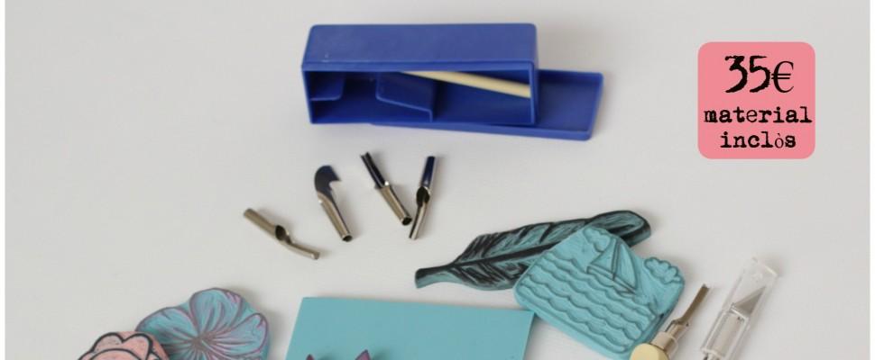 taller de carvat de segells a Santos Ochoa 02