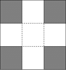 patrón exploding box