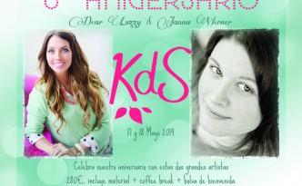 dear lizzy y janna werner en Barcelona con KdS