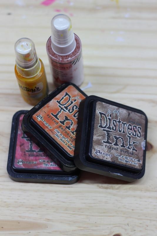 Distress Ink y mist