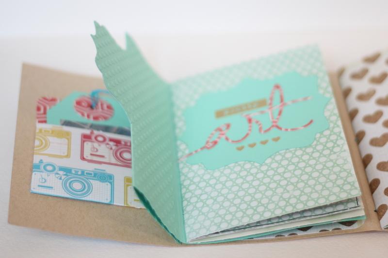 Mini Album Bon dia Xènia Crafts-002