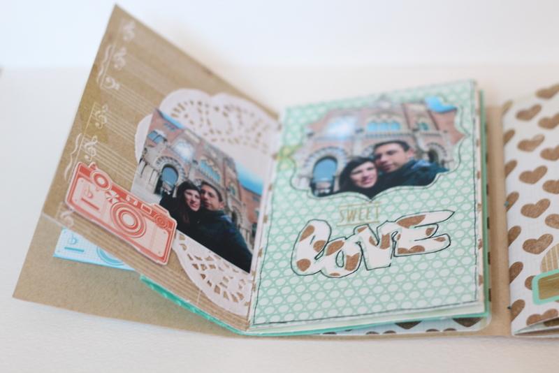 Mini Album Bon dia Xènia Crafts-003