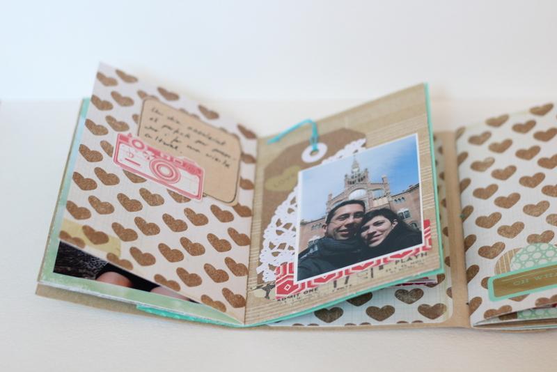 Mini Album Bon dia Xènia Crafts-005