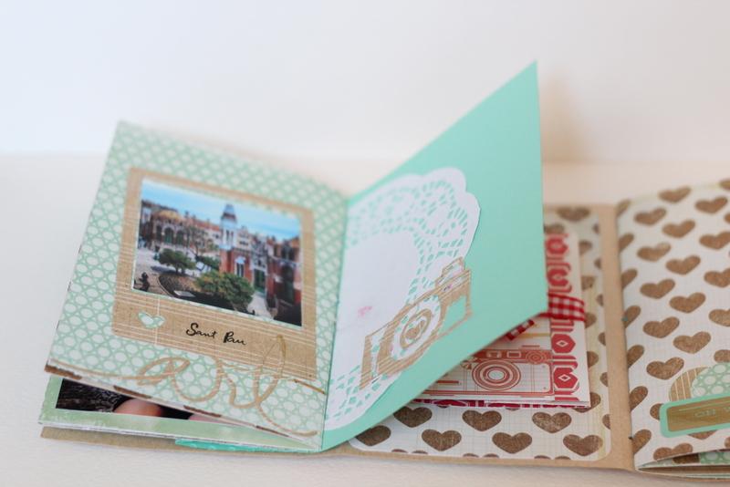 Mini Album Bon dia Xènia Crafts-006
