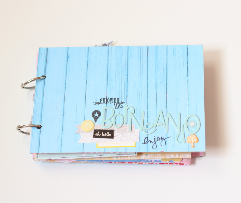 Mini Album de Scrapbooking Borneando-001