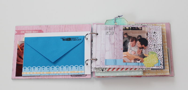 Mini Album de Scrapbooking Borneando-004