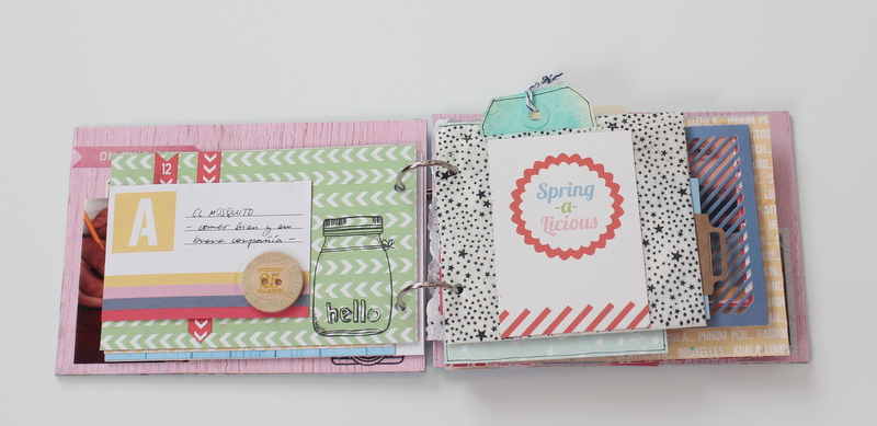 Mini Album de Scrapbooking Borneando-005