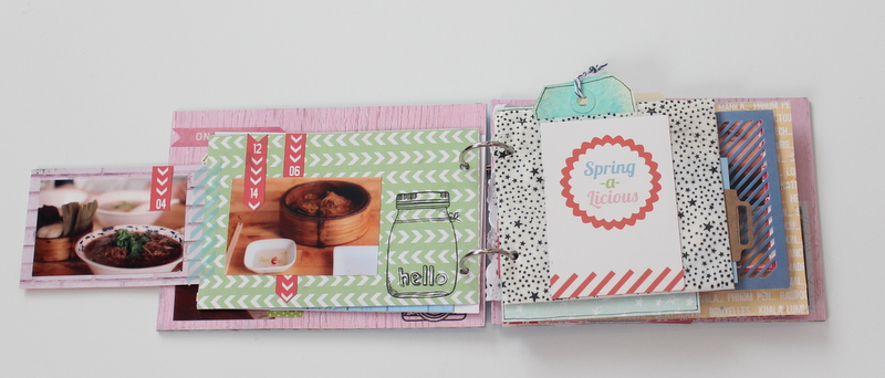 Mini Album de Scrapbooking Borneando-006