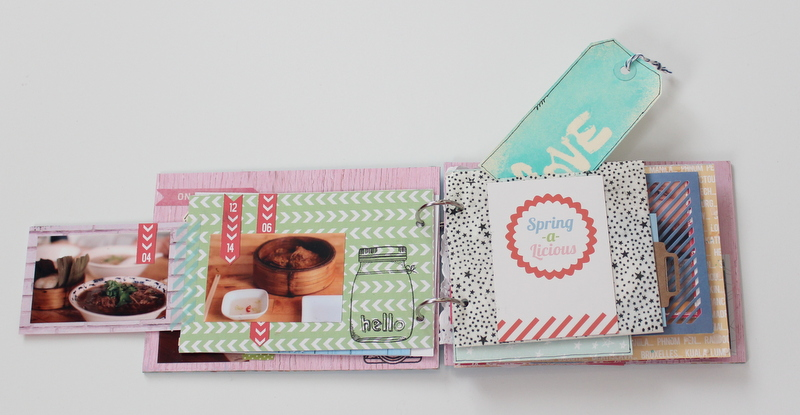 Mini Album de Scrapbooking Borneando-007