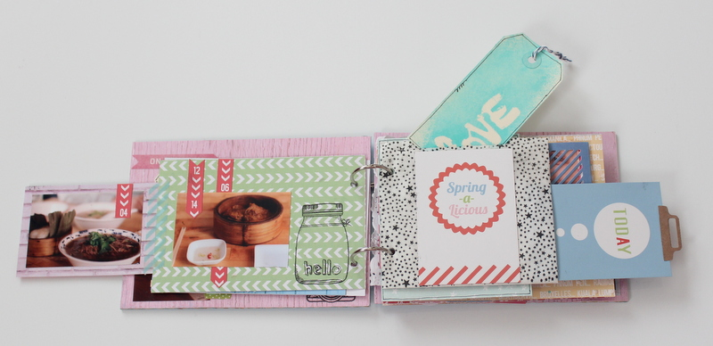 Mini Album de Scrapbooking Borneando-008