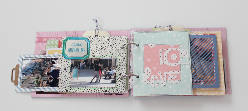 Mini Album de Scrapbooking Borneando-010