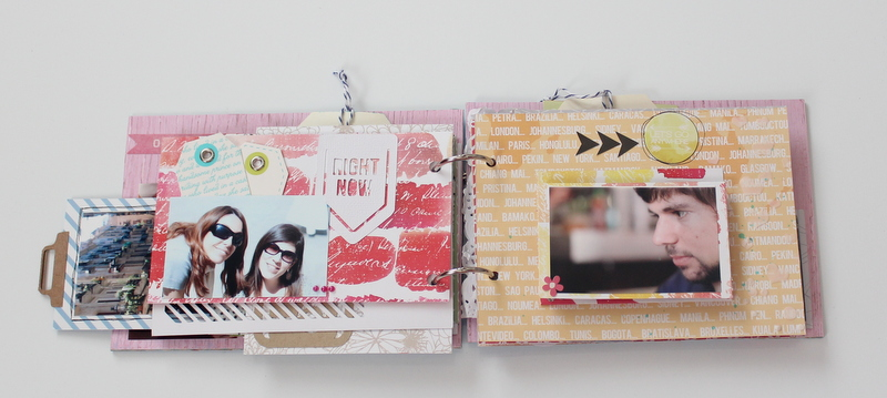Mini Album de Scrapbooking Borneando-013