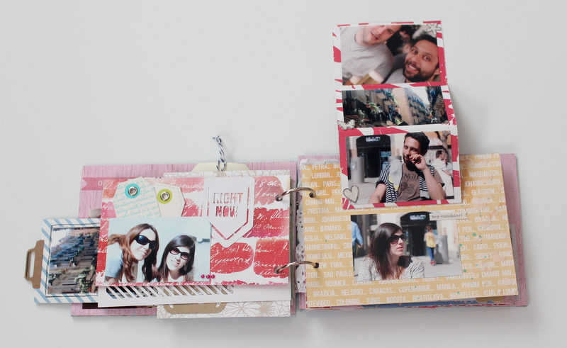 Mini Album de Scrapbooking Borneando-014