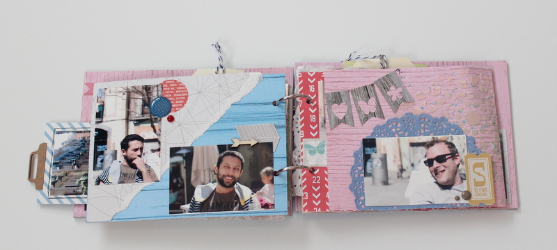 Mini Album de Scrapbooking Borneando-016