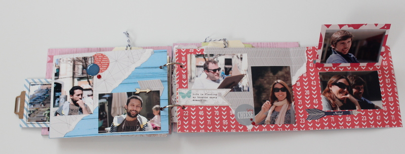 Mini Album de Scrapbooking Borneando-018