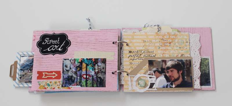 Mini Album de Scrapbooking Borneando-019