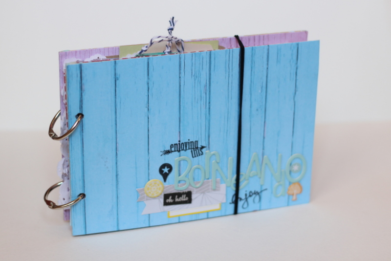 Mini Album de Scrapbooking Borneando-026