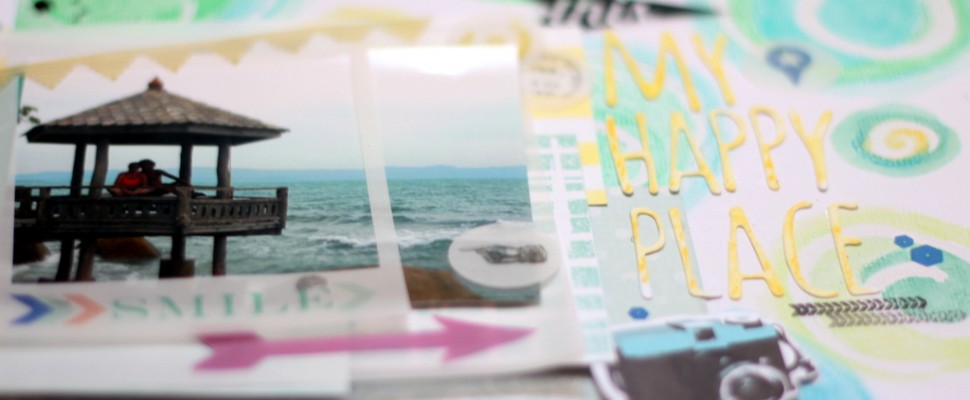 Happy Place, fondo con Neocolors II-003