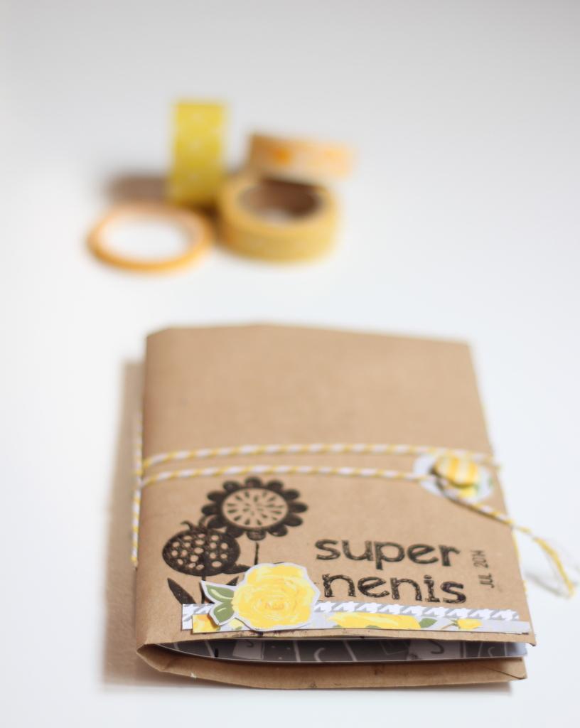 Mini Album Super Nenis scrapbooking-001
