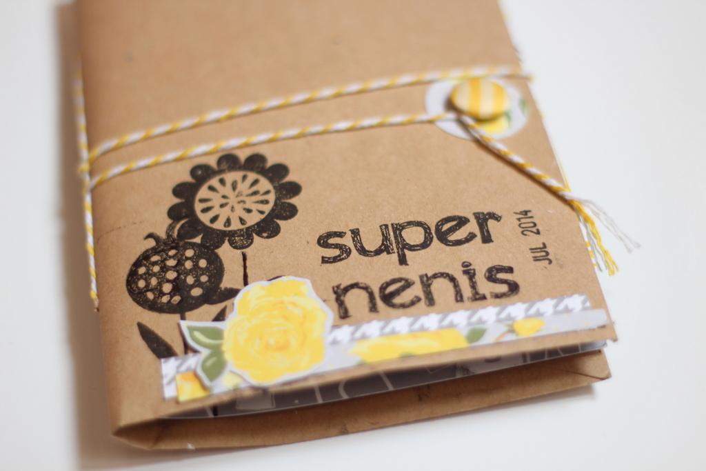 Mini Album Super Nenis scrapbooking-002