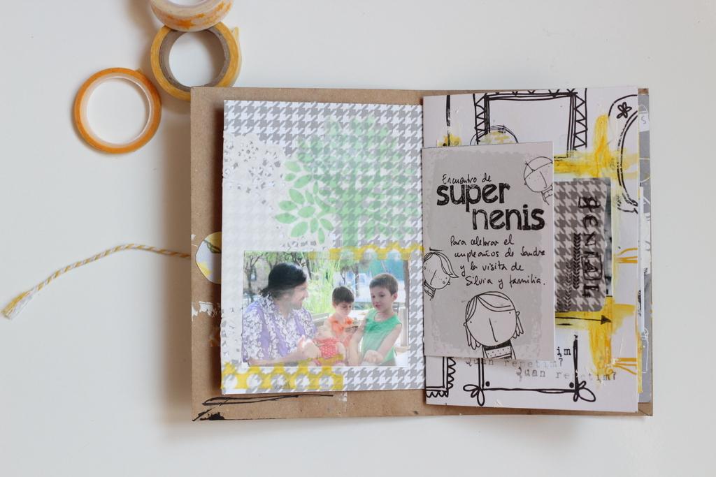 Mini Album Super Nenis scrapbooking-007