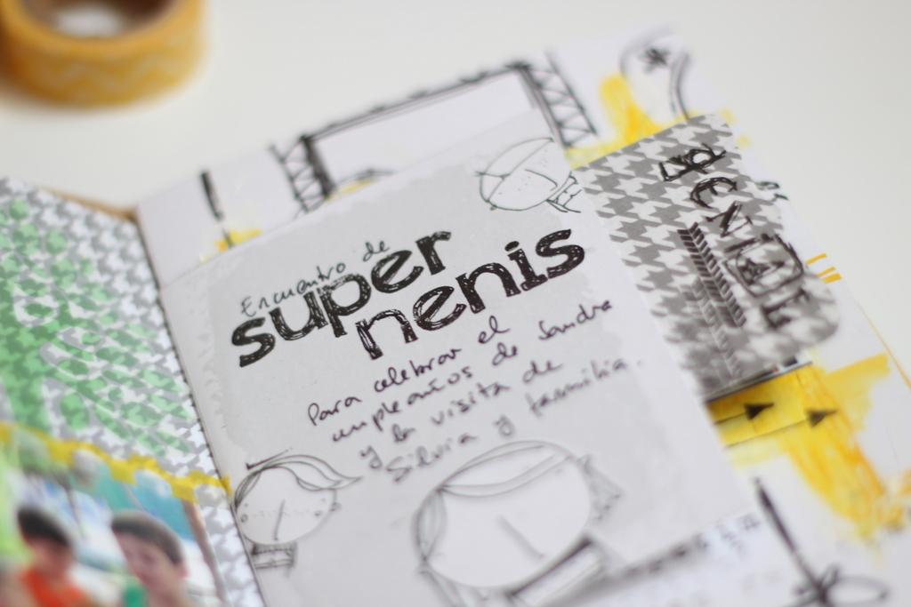 Mini Album Super Nenis scrapbooking-008