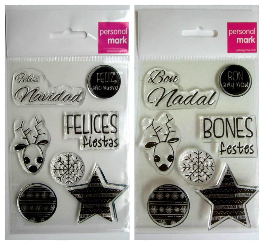 sellos de navidad sellosgoma