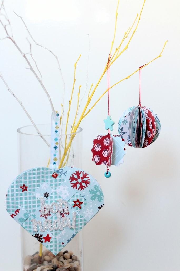 Decoración de Navidad Xènia para Kimidori