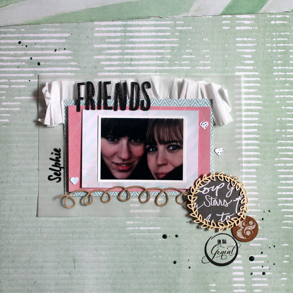 Reto de Enero In The Scrap por Xènia Crafts