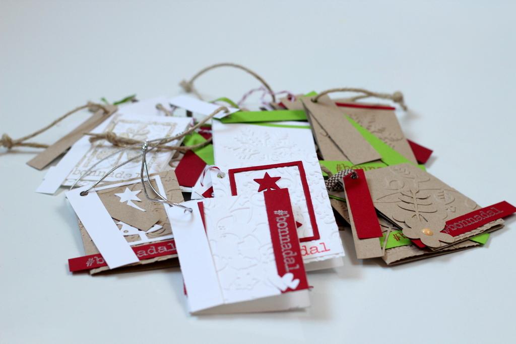 Tarjetas de buenos deseos Xènia Crafts para FSN-009