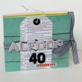 Àlbum scrapbooking con sobres Xènia Crafts