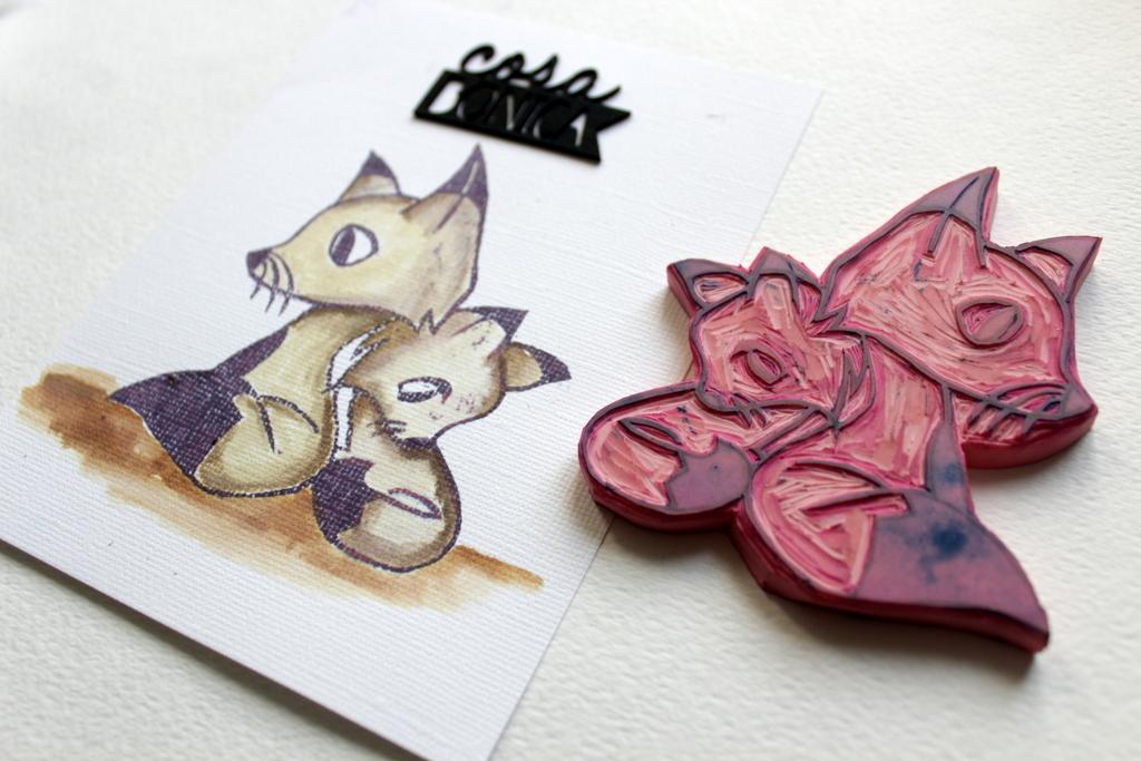 Handcarved Stamp-007