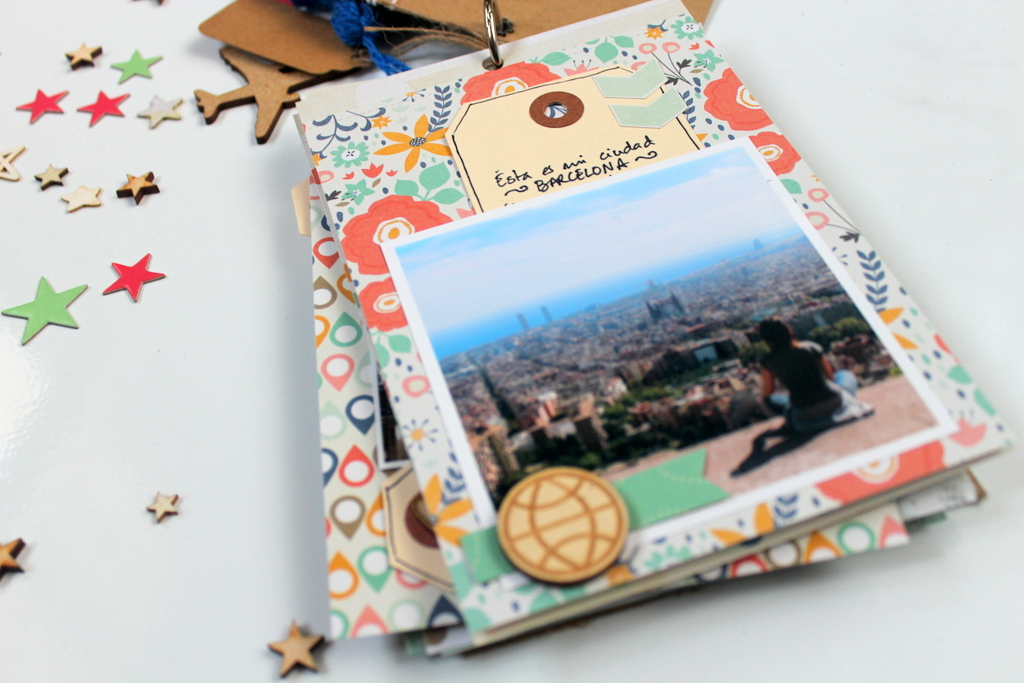 Mini Album Scrapbooking Xènia Crafts para Kimidori-014