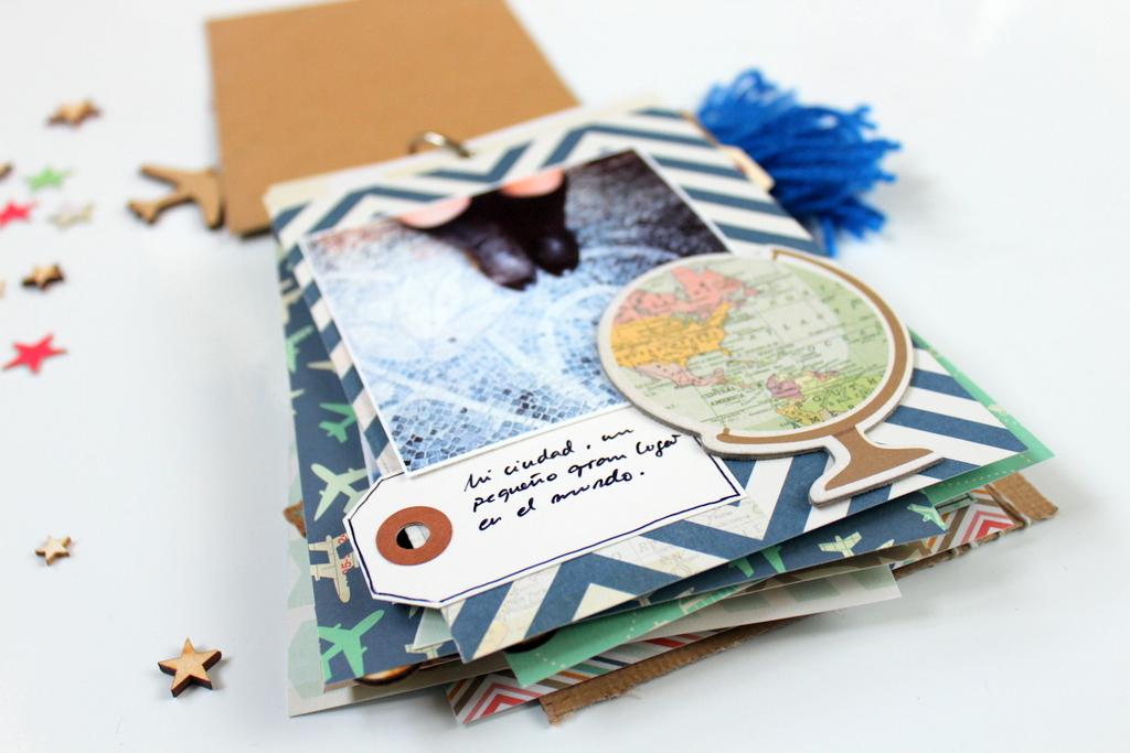 Mini Album Scrapbooking Xènia Crafts para Kimidori-018