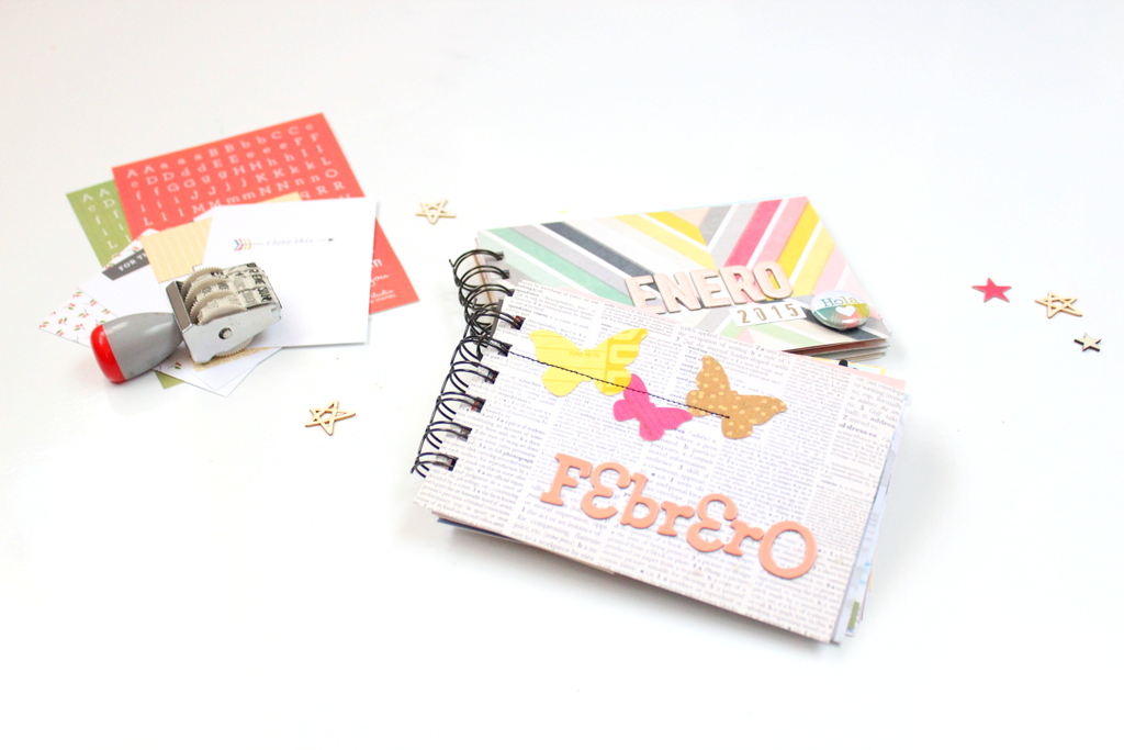 Project life febrero 2015 Xènia Crafts