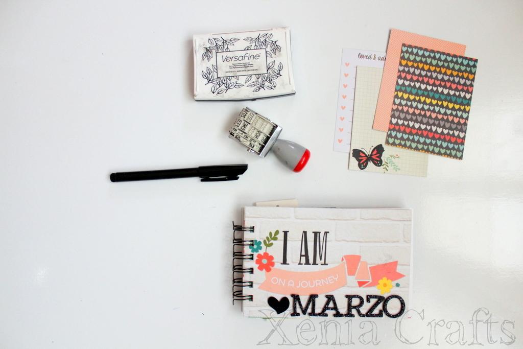 Project Life Marzo Xènia Crafts-001